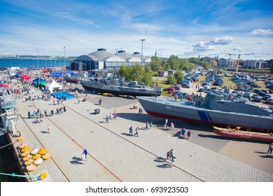 Tallinn Maritime Days 15-18 July 2017. Tallinn Maritime Days in harbour of Tallinn: Seaplane harbour