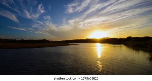 Tallow Creek Sunset Byron Bay  Australia.