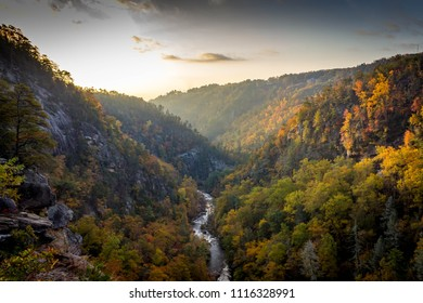 Tallulah Gorge in the Fall