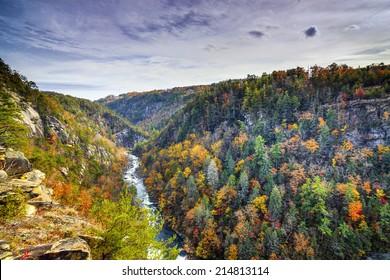 Tallulah Gorge in Georgia, USA.