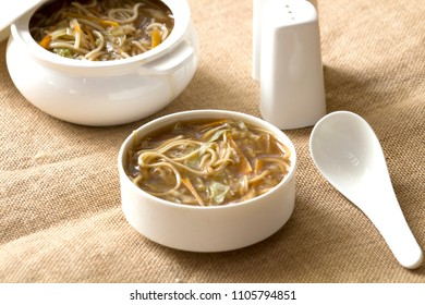 Talomein soup is a delicious Indo chinese dish which is a veggie-packed noodle soup with a balanced flavours.