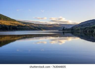 Talybont Reservoir in Wales