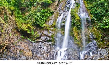 Tam Nang Waterfall, Sri Phang-Nga National Park, Takuapa District, Phang-Nga, Thailand