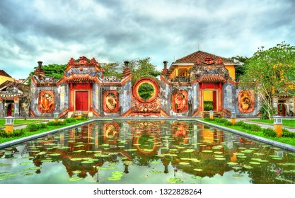 Tam Quan Ba Mu temple in Hoi An. UNESCO world heritage in Vietnam