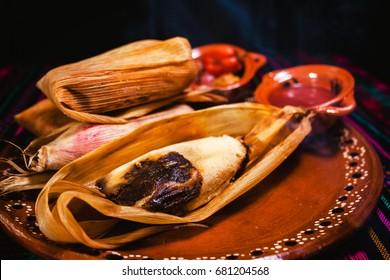 tamales de mole, mexican food and mexican cuisine