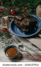 Tamales a traditional food from latin america, traditional food for christmas in latin america.