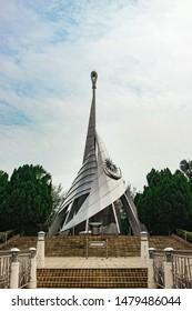 Taman Perdana Putrajaya Malaysia - August 11 2019 : The landmark of Putrajaya