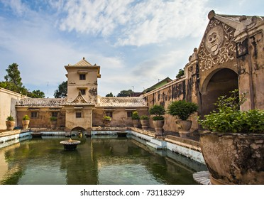 Taman Sari, a heritage  part of Jogja Royal Palace,Kraton Jogja, that used as a bathroom for the king and royal family, located in Jogjakarta, Indonesia.