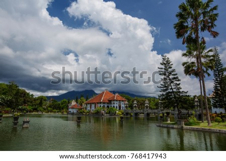 Taman Ujung Water Palace On Bali Stock Photo Edit Now 768417943