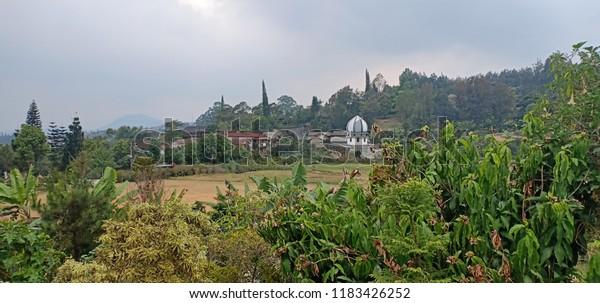Taman Wisata Cibodas Cianjur Stock Photo Edit Now 1183426252