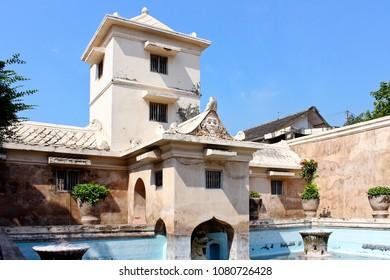 Tamansari water castle, another palace that traveler must visit in Yogyakarta Indoensia
