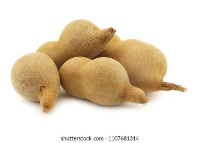 tamarind beans on a white background