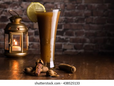 Tamarind Juice with Fanoos Horizontal