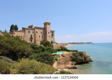 Tamarit castle, near Tarragona in Spain. Beautiful scenery