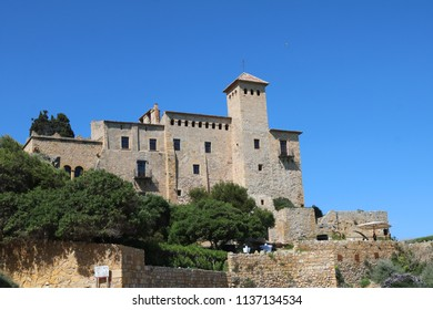 Tamarit castle near Tarragona, Spain. Beautiful scenery
