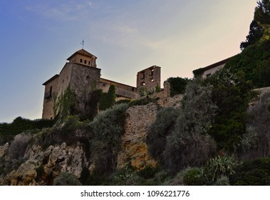 Tamarit castle at Tarragona city - Catalonia / Spain