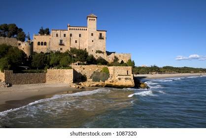 Tamarit castle,Tarragona,Catalonia,Spain