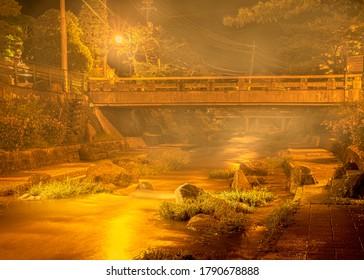 Tamatsukuri Onsen is an onsen hot spring located in Tamayu, Shimane Prefecture, Japan.
