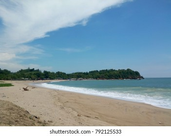 tambak beach backrground