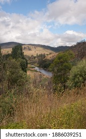 Tambo river viewed from the great alpine road, Victoria, Australia