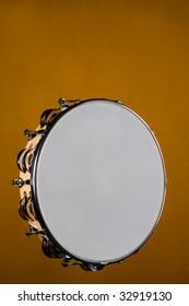 Tambourine Isolated
