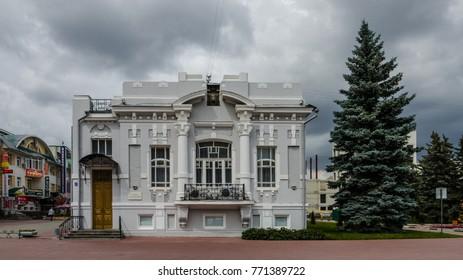 Tambov, Russia - July 15, 2015: House of merchants Seleznev