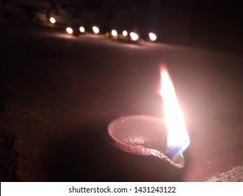 Tamil festival karthigai deepam lamp