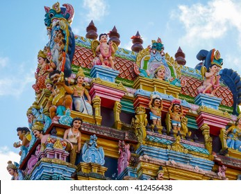 Tamil Surya Oudaya Sangam Temple, Grand Baie, Mauritius