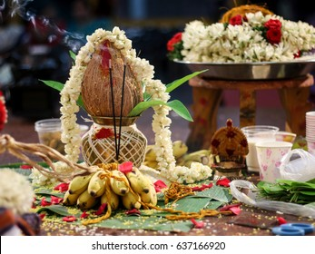 Tamil wedding stage
