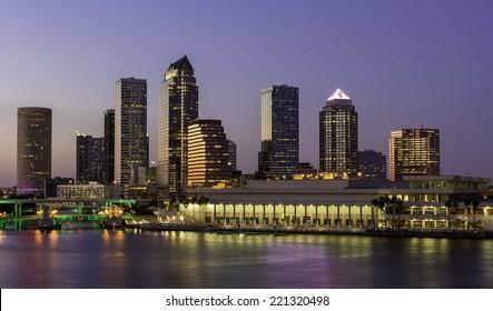 Tampa, FL Downtown Skyline