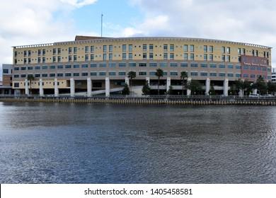 Tampa, Flordia, USA - January 7, 2017: Tampa General Hospital