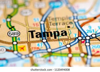 Tampa Florida Usa Map.Map Of Tampa Florida Stock Photos Images Photography Shutterstock