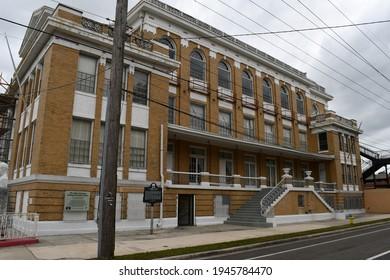 Tampa. March 21 2021: The Cuban Club in Ybor City.