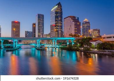 Tampa-bay downtown