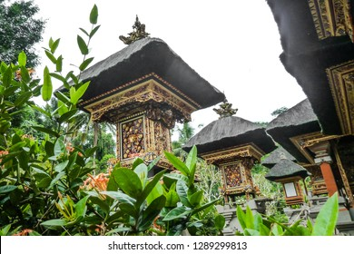 Tampaksiring - Bali - Indonesia - 8/5/2015: Tirta Empul temple (Indonesian: Pura Tirta Empul), an Hindu Balinese water temple
