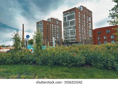 Tampere, Finland 07.05.2020 Urban environment