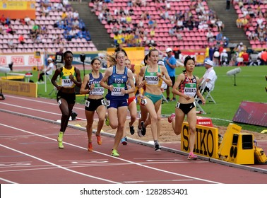 TAMPERE, FINLAND,  July 11: Athlets on the 800 METRES semi-final at the IAAF World U20 Championships in Tampere, Finland on July 11, 2018.