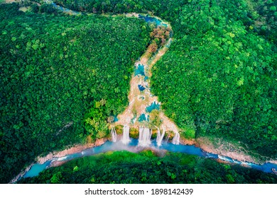 Tamul Waterfall, Huasteca Potosina,  San Luis Potosi , Mexico