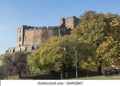 Tamworth Castle from Castle Grounds