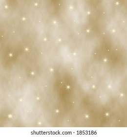 Tan digital background and gold stars.