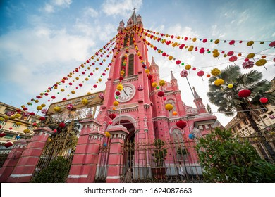 Tan Dinh church. Taken at Ho Chi Minh city, Viet Nam. Taken in Aug, 2019.