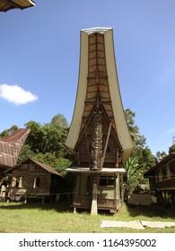 TANA TORAJA/SULAWESI/INDONESI-JUNE 2012: Hoses in Tana Toraja are huge