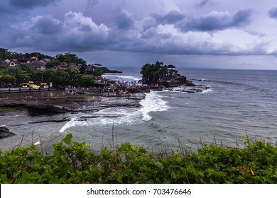 TANAH LOT, BALI, INDONESIA-7th OCT 2016:-Tanah Lot is a spectacular sea temple on the island of Bali