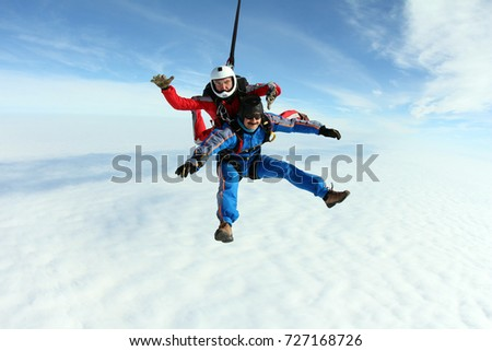 tandem skydiving passenger sitting harness 450w 727168726 tandem skydiving passenger sitting harness stock photo (edit now
