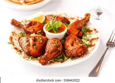 Tandoori Chicken Platter