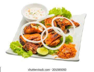 Tandori Chicken - traditional Indian cuisine
