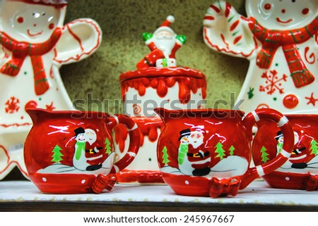 Babbo Natale Italy.Taneto Italy December 27 2014 Great Stock Photo Edit Now 245967667
