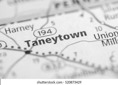 Taneytown. Maryland. USA