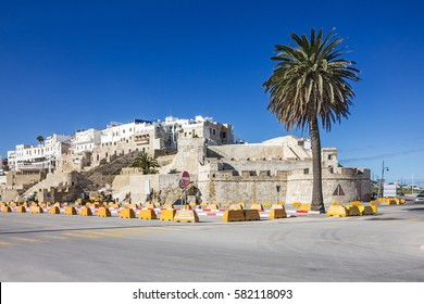 Tanger ancient fortress architecture, Morocco