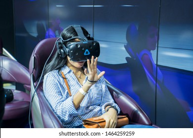Vr Driving Simulator Images, Stock Photos & Vectors